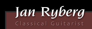 Jan Ryberg | Classical Guitarist